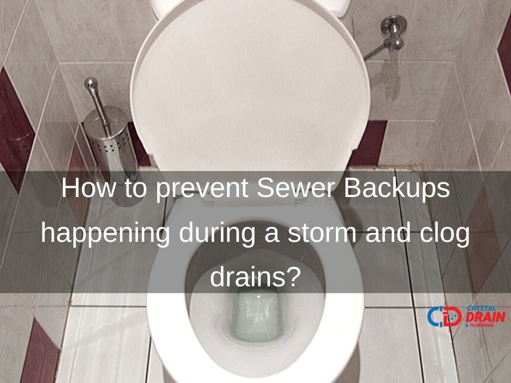 Sewer backup prevention