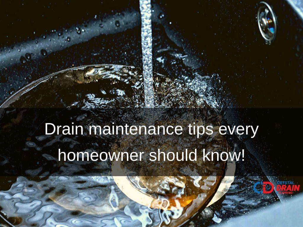 Drain maintenance tips